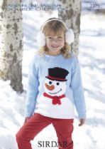 Sirdar Wash 'n Wear Double Crepe - 2375 Jumper Knitting Pattern